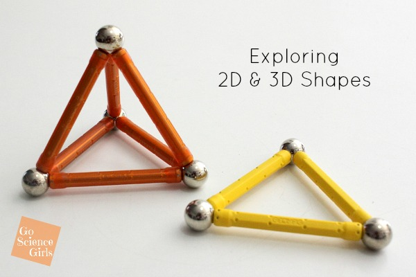 Exploring 2D and 3D Shapes with Geomag