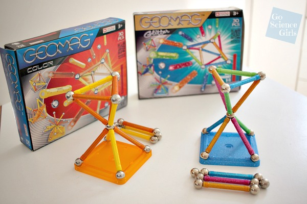 Geomag Color and Geomag Glitter 30 piece box sets
