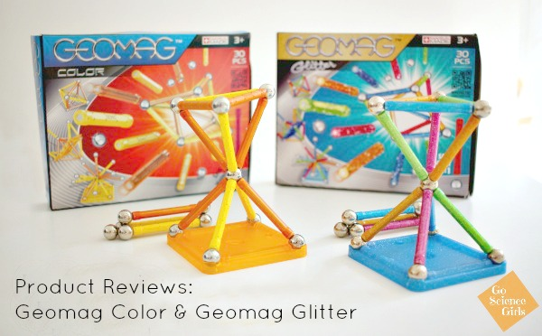 Geomag Color and Geomag Glitter product review