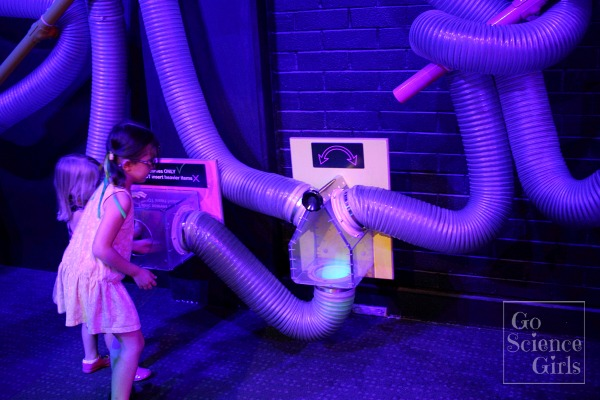 Exploring wind tubes at Questacon