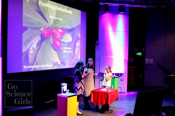 Fooling tastebuds - sense of taste science at Questacon
