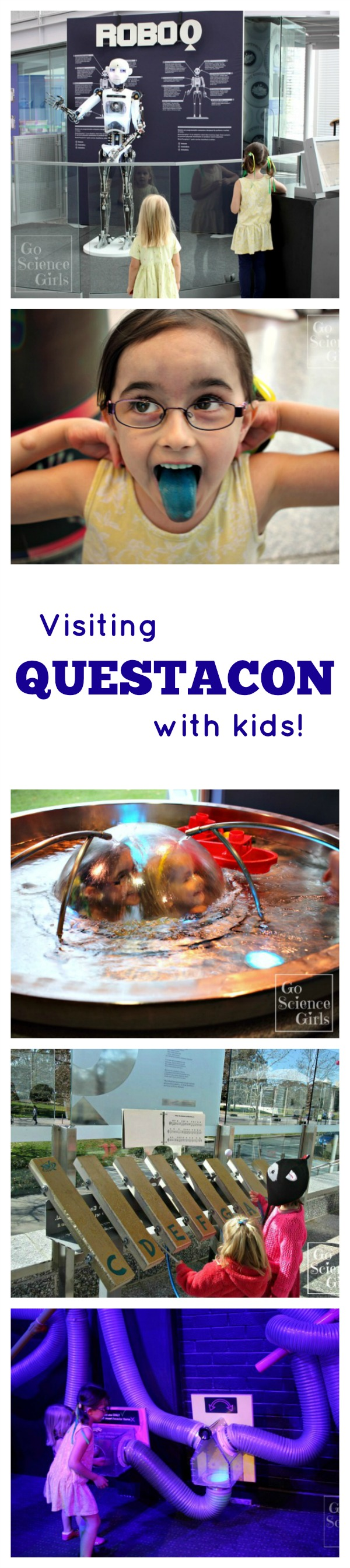 Visiting Questacon with kids - science and technology fun!