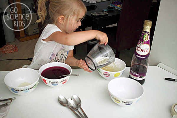 Making Jelly with kids