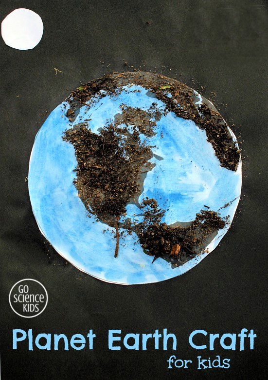 Planet Earth Craft for Kids