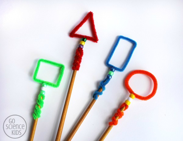 Shape Bubble Wands