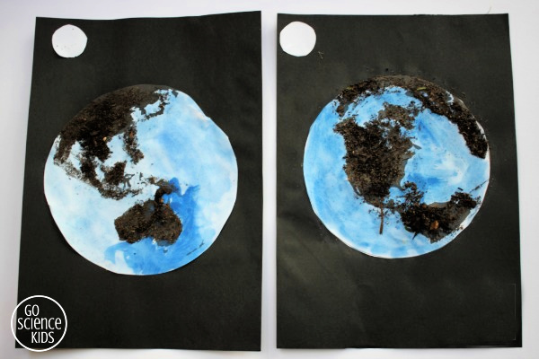 Two sides of the earth craft