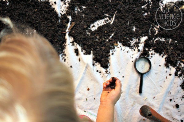 Playing in the dirt - a science experiment
