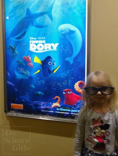 Taken at Finding Dory advance screening