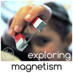 exploring magnetism - easy magnet science experiment for kids