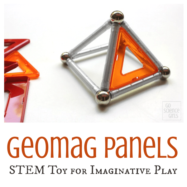 Geomag Panels - STEM Toy for Imaginative Play for kids