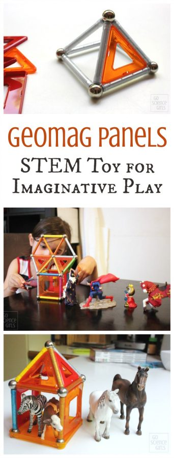 Geomag Panels - STEM toy for imaginative play