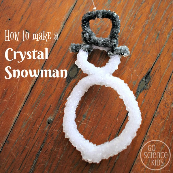 Crystal Snowman Square