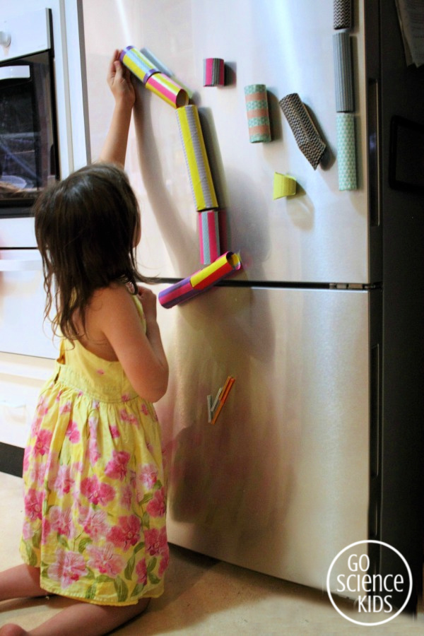 Fridge door marble run!