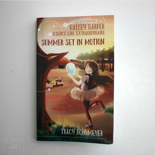 Chapter book review - Halley Harper Science Girl Extraordinaire; Summer Set In Motion