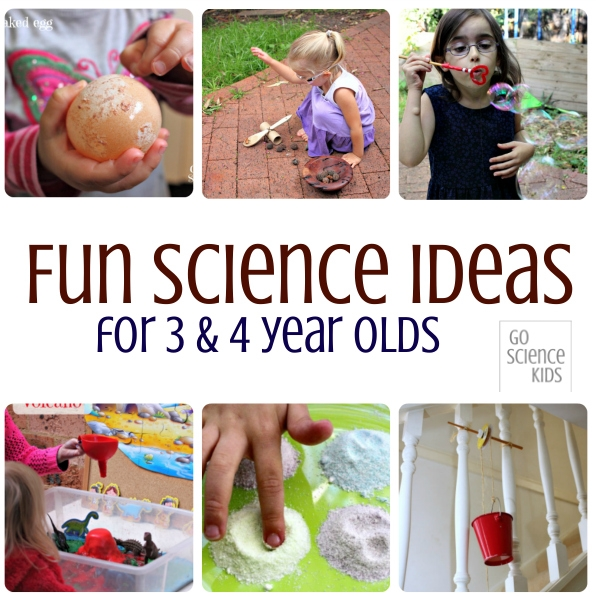 Fun Science Ideas for 3-4 Year Olds