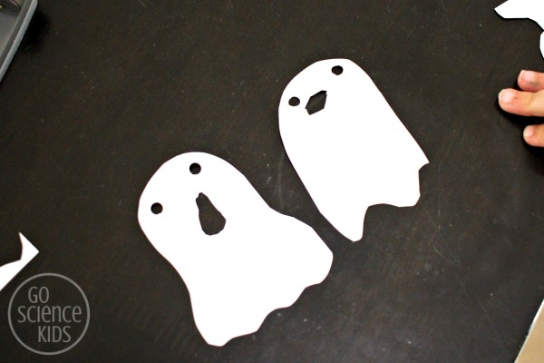 Two paper ghosts