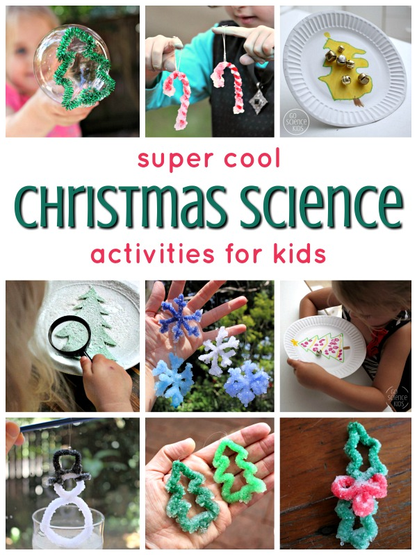 Super cool Christmas science activities for kids
