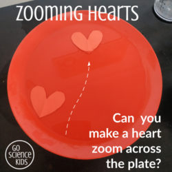 Zooming hearts fun science activity