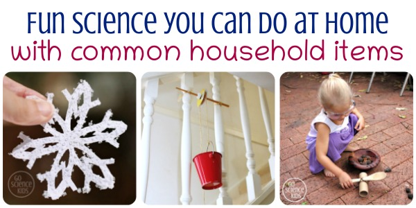Fun science you can do at home with common household items