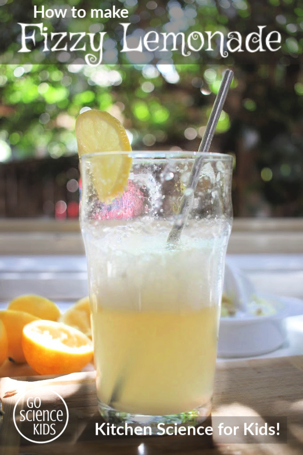 How to make fizzy lemonade - kitchen science for kids