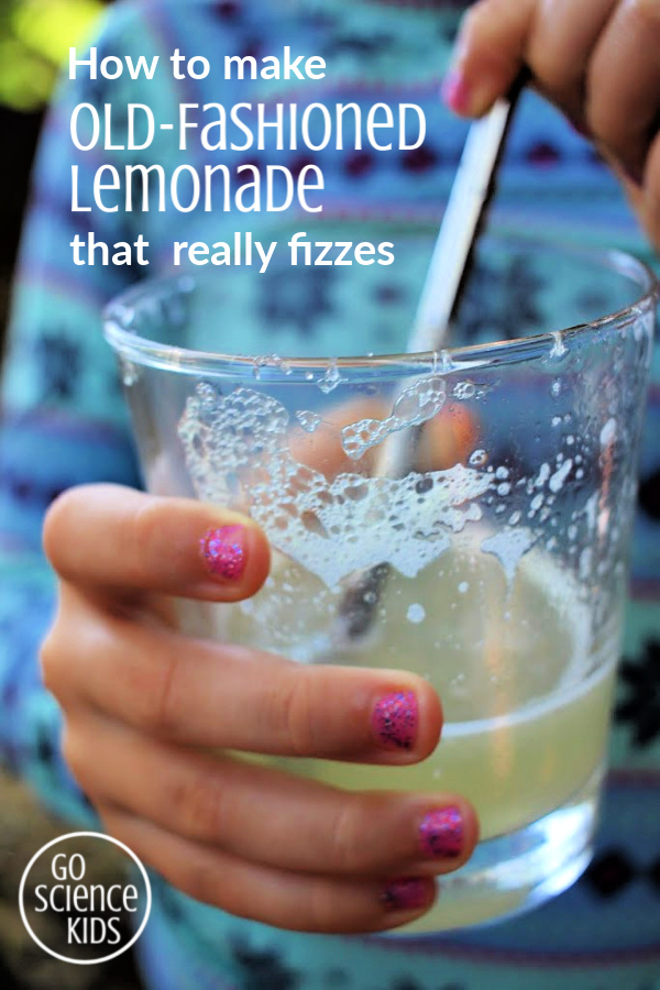 How to make old-fashioned lemonade that really fizzes