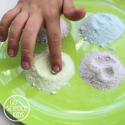 Make sherbet with kids