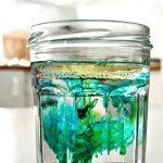 Fireworks in Oil & Water | Density science project for kids