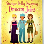 Review: Dream Jobs {a Sticker Dolly Dressing, Usborne Activities book}