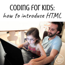 Coding for Kids: Introducing HTML to 5 Year Olds