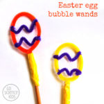 Easter Egg Bubble Wands
