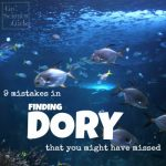 8 mistakes in Finding Dory that you might have missed