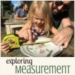 Plaful preschooler math - exploring measurement at a cafe