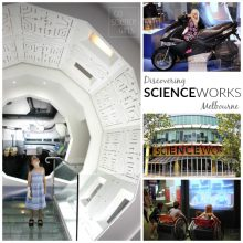 Scienceworks Melbourne, with kids!