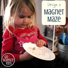 Design a Magnet Maze: a science + art activity