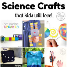 12 Cool and Cute Science Crafts that Kids will Love!