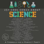 Cool Songs about Science - a formula for a perfect party