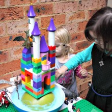 Castle in the Clouds: science & imaginative play